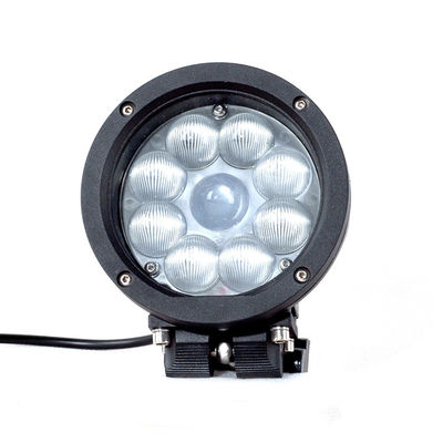 China Black Color Spot / Flood Beam LED Vehicle Work Light with 5.5 Inch 45w 12v High Intensity CREE Chips supplier