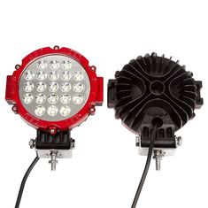 "China 63W 7"" Spot LED Work Light 6000K Driving for ATV Jeep Wrangler Car SUV Offroad Pickup 4WD Boat ATV supplier"