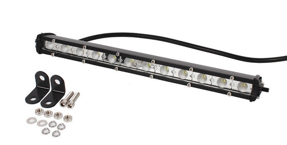 China Mini 36W LED Light Bar , Super Slim 13 Inch Led Spot Light Bar Waterproof Cree chips supplier