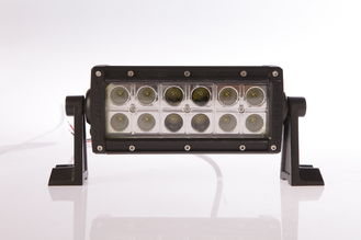 China Hot selling 7.5 INCH 36W 2520lm double row led light bars for trucks, off road car supplier