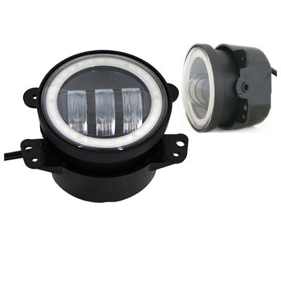 China 4 Inch Day Running Jeep Car LED Fog Lights 6500K DOT SAE Approved supplier
