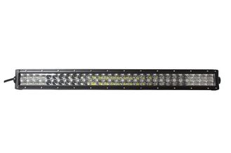 China Good Quality 40000 Lumens CE ROSH Dual Row Black Auto LED Light Bar With Cars supplier