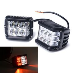 "China 4X4 Working Light 4"" LED Trailer Flashing Side Shot Pod Cube 36W Driving Work Light supplier"
