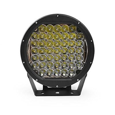China High power 10 inch LED driving light Round with 225W Black / Red color led work light for Off road car supplier