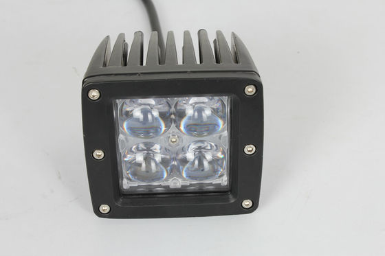 China 16W 3.5 Inch 4D LED Vehicle Work Light , LED Car Headlight for Truck 4WD Tractor supplier