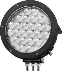 China Black Cree 10000 lumen 9 Inch Offroad LED Driving Lights , Round 120W LED Work Light supplier