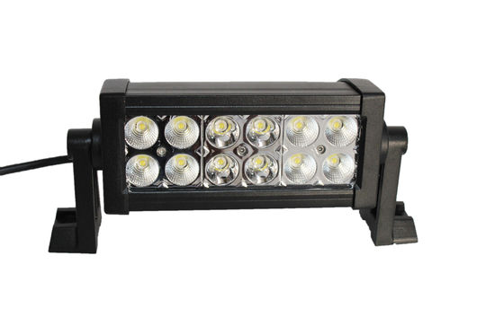 China 6000K 7.5 Inch Car Light Bar , 3w Epistar High Intensity Led Light Bar Offroad Shake - Proof supplier