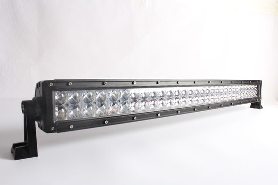 China 6000K 4D Double - Row Cree Straight 180W LED Light Bar Diecast Aluminum Housing supplier