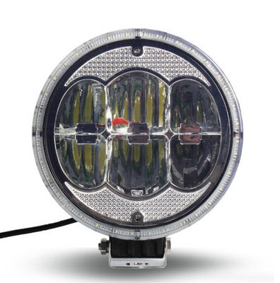 China High quality 7 inch led work light with 60W high intensity CREE LEDs for  off-road vehicle, ATVS, truck supplier