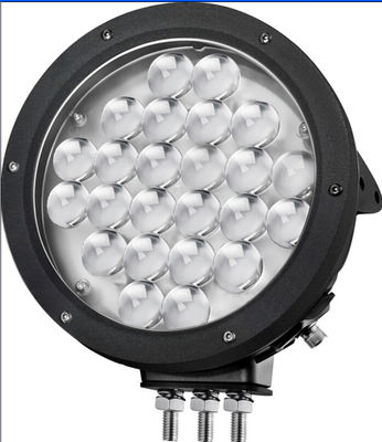 China 9 inch LED work light with 24pcs*5w high intensity CREE LEDs high lumens for Off Road vehicle supplier
