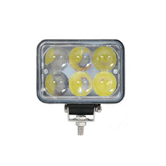 China 4D 18W Epistar LED work light with Flood/Spot Beam 1200 lumens for Off road vehicle supplier