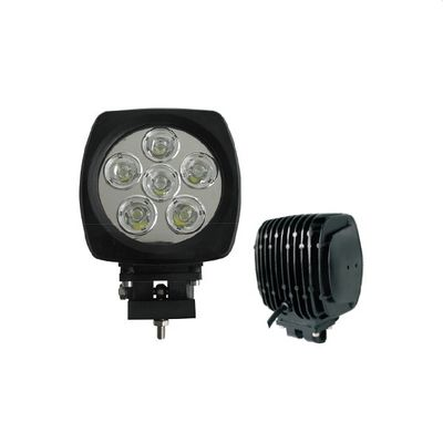 China HOT sell 60W 6 inch led auto lamp IP67 LED cree 6000k for offroad trucks car vehicles supplier