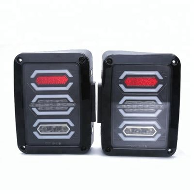 China IP68 LED Tail Light Replacement Brake Reverse Lamps for 2008 - 2015 Jeep Wrangler supplier