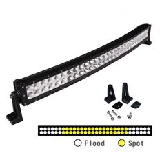 China Super Slim Waterproof Curved 50 Inch 288W Offroad 12 Volt Led Light Bar With Diecast Aluminum Housing supplier