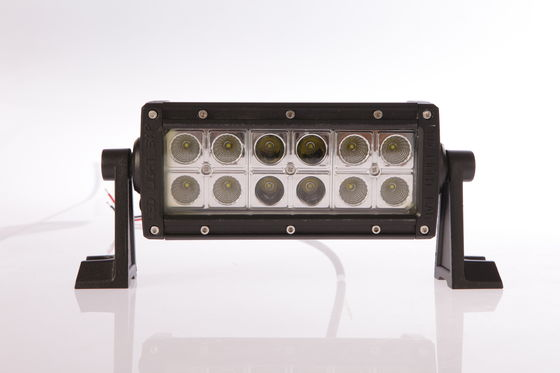 China 7.5 Inch 36W Ip68 LED Double Row Off Road Light Bars 2520lm Epistar Chips supplier
