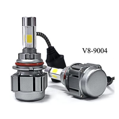 China High Or Low Beam Car LED Headlights / Embedded Installation Auto Headlight Bulbs supplier