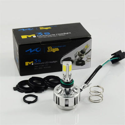 China Motorcycle / Electric Bicycle Led Headlight Bulbs Scope 32W 3000LM With Transformer supplier