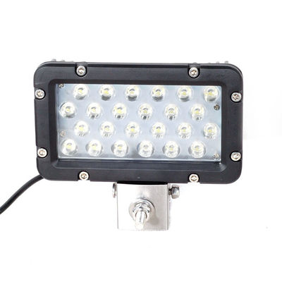 China Waterproof IP67 10-30V Square 24W 8 inch Car LED Work Light For SUV ATV Car Truck Tractor Boat supplier