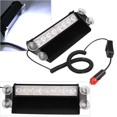 China 8Watt LED Vehicle Work With Remote Control & Car Cigarette Lighter / LED Emergency Strobe Lights supplier