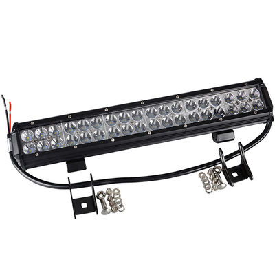 China Magnetic Double Row 18 Inch Off Road LED Light Bar 108 W 6000K For SUV Car supplier