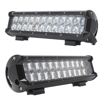 China 72W 13.5 Inch Double Row Led Light Bar Aluminum Housing For Offroad , Trucks , SUV supplier