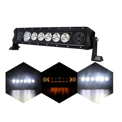 China Spot Beam Off Road LED Light Bar With Diecast Aluminum Housing Water Resistant supplier