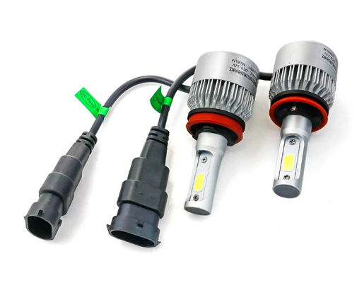 China 6500K 36w 3800lm Auto Car S2 H7 LED headlight Single Beam Sliver Color supplier