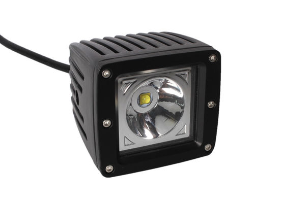 China 15 W 1000 Lumen LED Spot Work Light For Truck 4WD Tractor , LED Car Headlights supplier