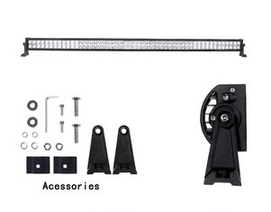 China 54 Inch 300 w 12v / 24v Jeep Off Road LED Light Bar With 24 Months Warranty supplier