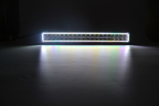 China 50 inch 280W RGB Halo Rings Tracing offroad Led Car Bar Lights with remote control factory