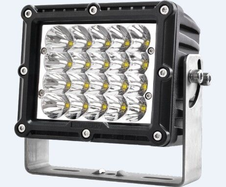 China Super Lumen CE Square Car LED Headlights 12v 100w Power IP67 Waterproof factory