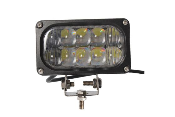 China 6000K Led Off Road Driving Lights , IP 67 30w Jeep Led Flood Work Lights factory