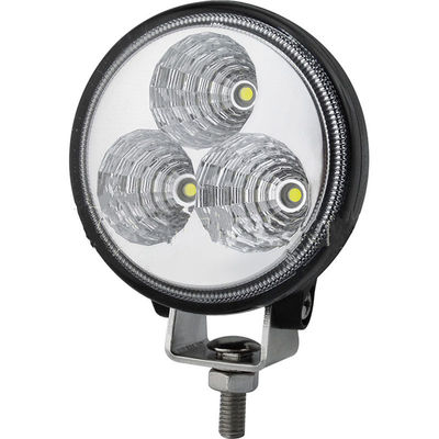 China 9W Round Shape Led Work Lamp 10~30V DC Flood /Spot CE ROHS Listed Waterproof Truck Work Lights factory