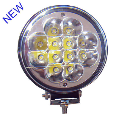 China Hanka Epistar Led Car Driving Lights , 36W IP67 Round Truck Driving Light factory