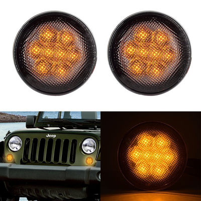 DC12V 3W Clear Lens Front Car Turn Signal Lights , IP68 Led Turn Signal Lights For Trucks