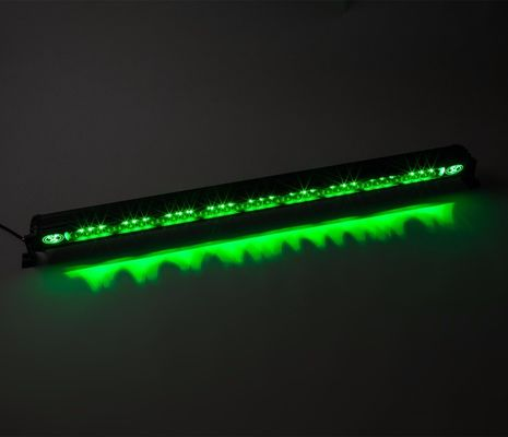 Flashing white color Single Row high lumens Car Light Bar For 4x4 Off Road ATV