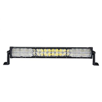 China 4 X 4 4WD 21.5 Inch Car Light Bar With Cross DRL120W 40 LEDs 7D Lens factory