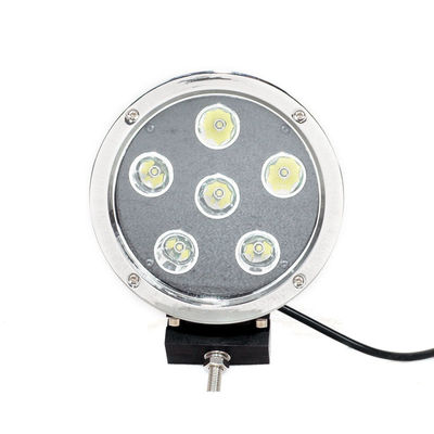 China High Intensity 5.5'' Black Round Led Fog Driving Lights 9 - 36v 60W Waterproof IP68 factory