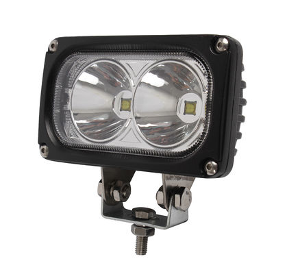 China 30W / 6000K Cree LED Driving Lights 3000lm Flood Spot Beam Led Off Road Lights factory