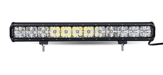 China 7D Cross DRL Car Roof Led Light Bar , 110v Spot / Flood Led Light Bar factory