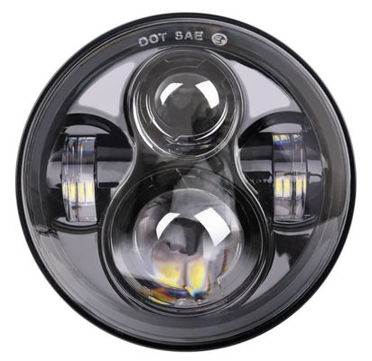 7 Inch Harley Davidson Daymaker Headlight  , Led Daymaker Motorcycle Headlight
