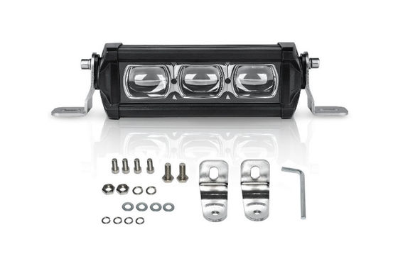 China 30 Watt 3 Pcs CREE 8d Led Light Bar , LED Work Light Bar For Driving 6000K factory