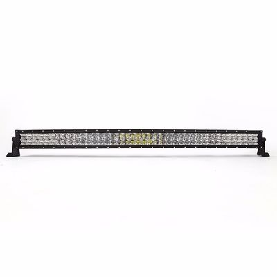 China Best Sales 40000 Lumens Aluminum material Dual Row Black Auto LED Light Bar factory