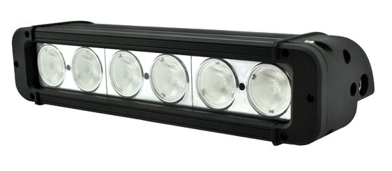 China 10.9-inch 60w Ultra-slim Single Row Led light bar with 10.9-inch 60w 5400lm  Flood CREE LED Light Bar Fog Driving Light factory