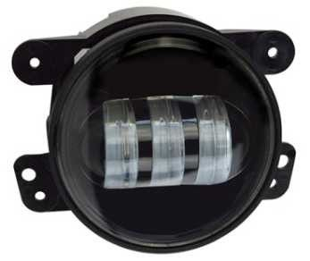 China 30 W 4 Inch Waterproof Fog Led Car Headlight For Jeep Energy Saving Shake - Proof factory