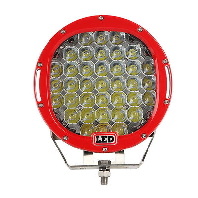 9 inch Led work light with 111Watt , 37pcs*3w high intensity CREE LEDS, Black, Red, Bule, Yellow Body color available