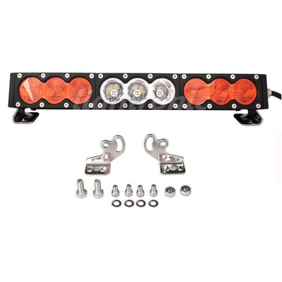 10 - 30V DC 6000K Off Road LED Light Bar 17 Inch 90watt High Brightness