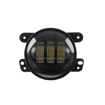 12V DC 4 Inch 30 Watt Car LED Fog Lights For Harleys Jeeps Motorcycle