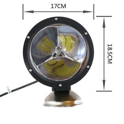 DC10 - 30V 45W Round Head LED Vehicle Work Light ,  Off Road LED Driving Lamps