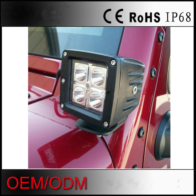 Cree 16W Led Replacement Fog Lights Flood/Spot Square Bright Fog Lights For Trucks